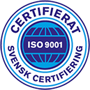 Logotyp certifikat SCAB ISO 9001