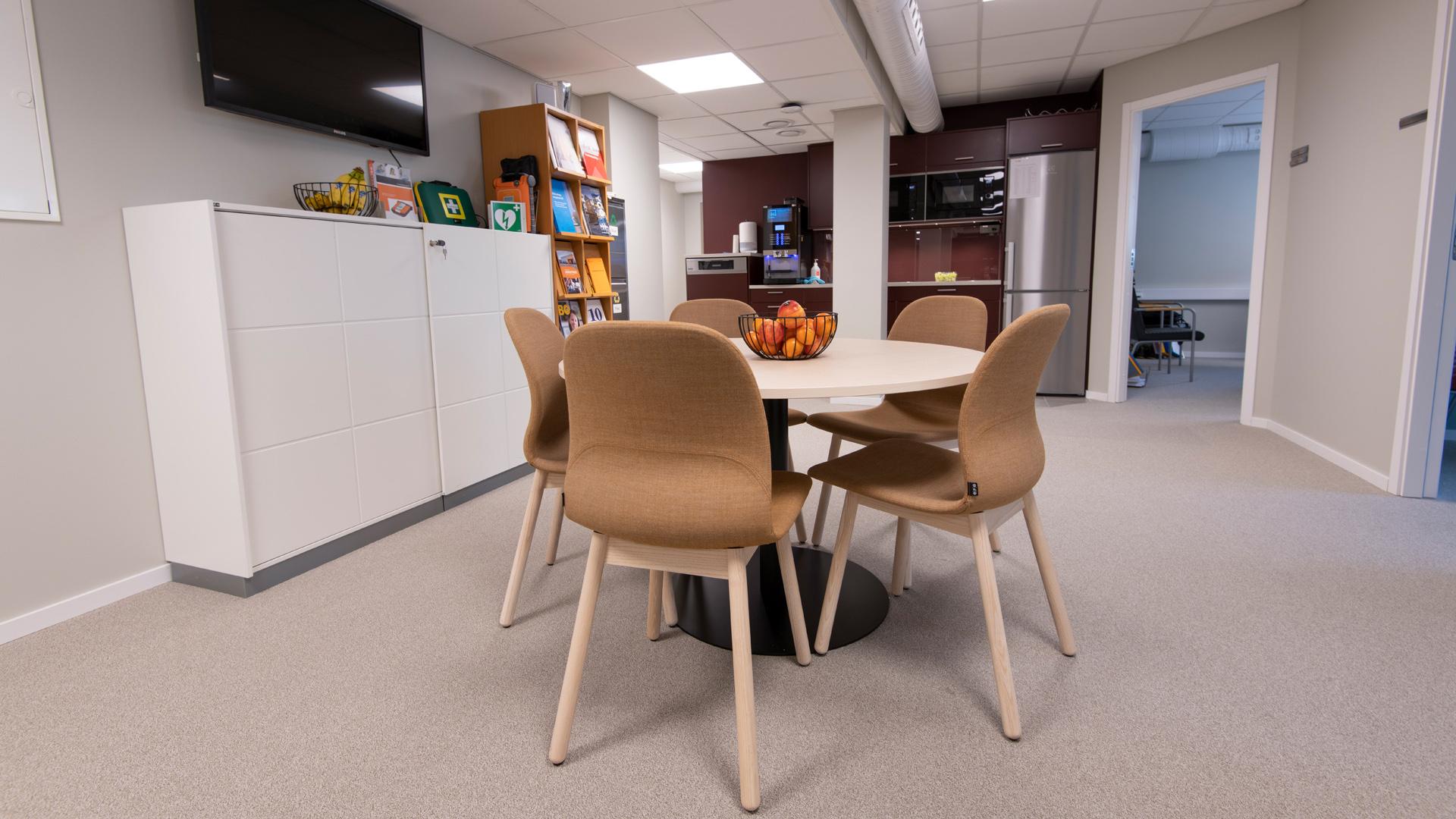 Skebos kontor, Skeppargatan 12 i Skellefteå, översikt